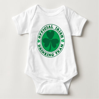 Official-Irish-Drinking-Team.2-png Baby Bodysuit