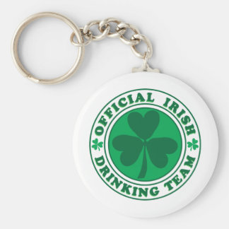 Official-Irish-Drinking-Team.2-png Keychain
