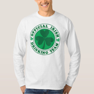 Official-Irish-Drinking-Team.2-png T-Shirt