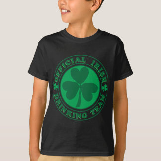 Official-Irish-Drinking-Team.2-png T-Shirt