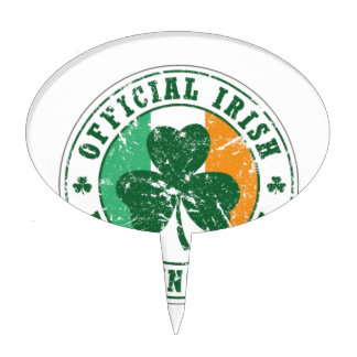 Official Irish Drinking Team Cake Topper