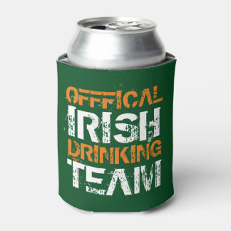 Official Irish Drinking Team Can Cooler