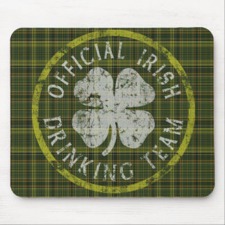 Official Irish Drinking Team Mousepad