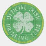 Official Irish Drinking Team Sticker