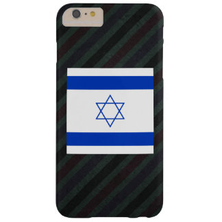 Official Israel Flag on stripes Barely There iPhone 6 Plus Case