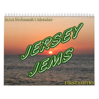 Official Jersey Jems 2012 Swimsuit Calendar