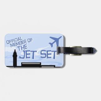 Official Jet Set Member Travel Tag Travel Bag Tag