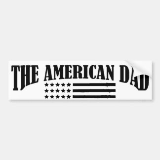 Official Jobs of The American Dad Car Bumper Sticker