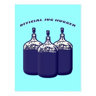 Official Jug Hugger Postcard