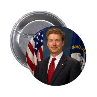 Official Kentucky Senator Rand Paul Portrait 2 Inch Round Button
