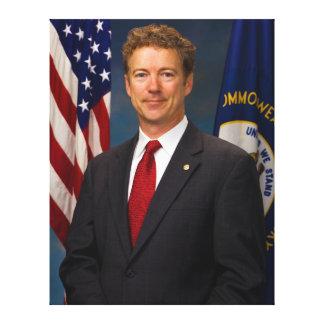 Official Kentucky Senator Rand Paul Portrait Canvas Print