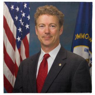 Official Kentucky Senator Rand Paul Portrait Printed Napkins