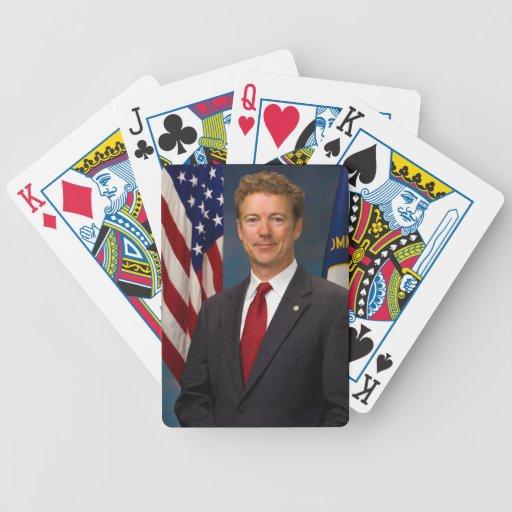 Official Kentucky Senator Rand Paul Portrait Poker Deck