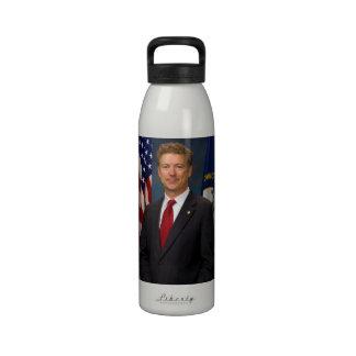 Official Kentucky Senator Rand Paul Portrait Water Bottles