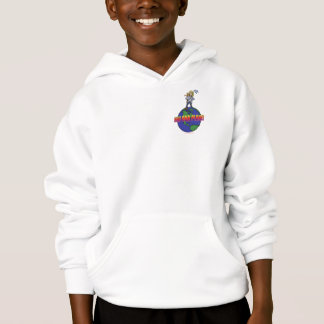 Official Kids Hike Our Planet Logo Gear Hoodie