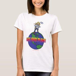 Official Kids Hike Our Planet Logo Gear T-Shirt