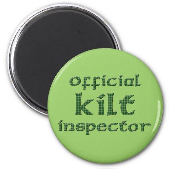 Official Kilt Inspector Magnet