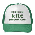 Official Kilt Inspector Mesh Hats