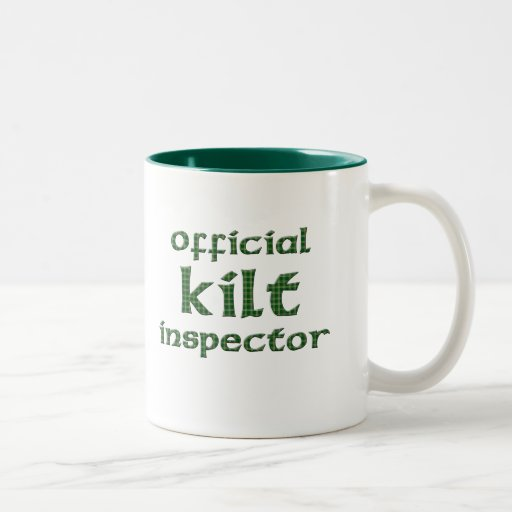 Official Kilt Inspector Two-Tone Coffee Mug