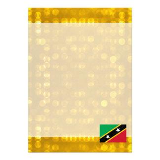 """Official Kittian Flag 5"""" X 7"""" Invitation Card"""