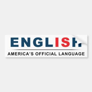 Official Language Bumper Sticker