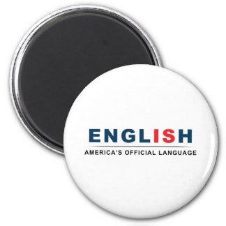 Official Language Magnet