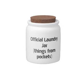 Official Laundry Jar Candy Jars