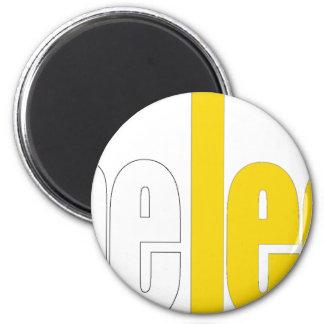 Official Leet merchandise 2 Inch Round Magnet
