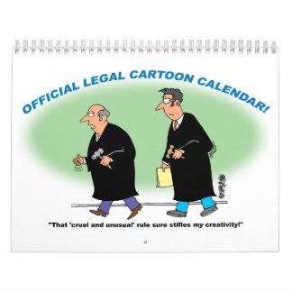 OFFICIAL LEGAL CARTOON CALENDAR