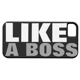 (Official) LIKE A BOSS iPhone SE/5/5s Case
