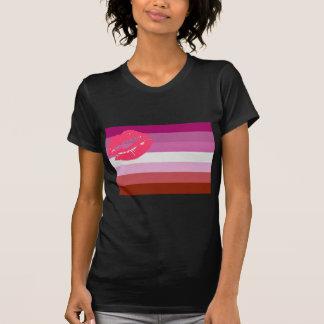 OFFICIAL LIPSTICK LESBIAN FLAG T-Shirt