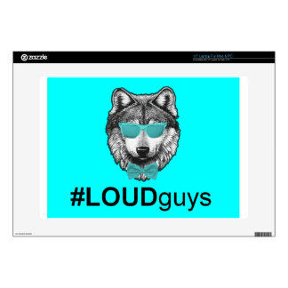 """Official #LOUDguys Wolfpack Line 15"""" Laptop Decals"""
