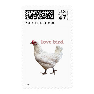 Official Love Bird Postage Stamps