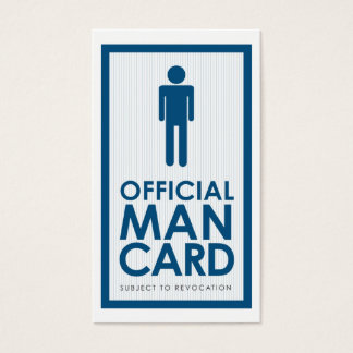 Official Man Card