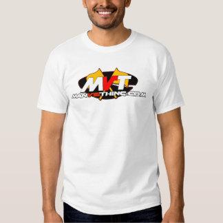 Official Man Vs Thing Logo T-shirt