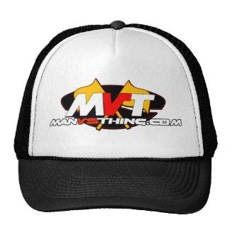 Official Man Vs Thing Logo Trucker Hat