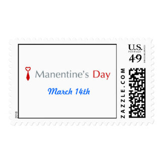 Official Manentine's Day Stamp