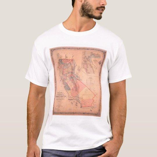 Official Map of California T-Shirt