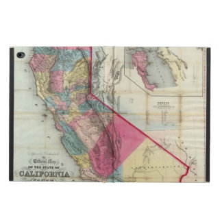 Official map of the State of California Powis iPad Air 2 Case