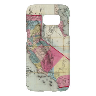 Official map of the State of California Samsung Galaxy S7 Case