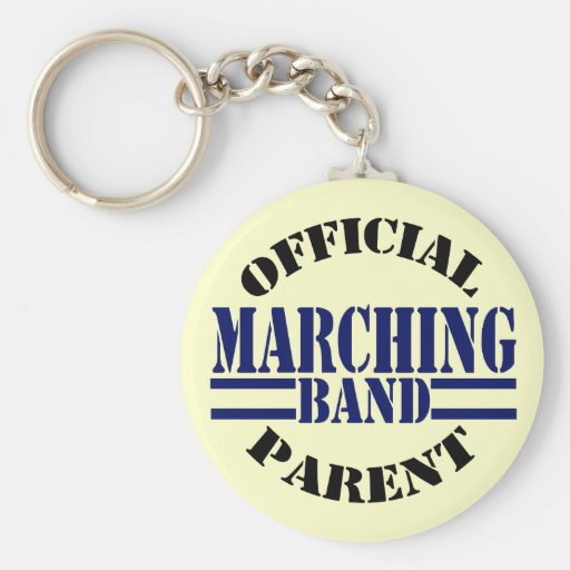 Official Marching Band Parent Keychains