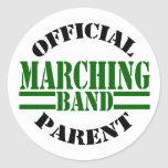Official Marching Band Parent Sticker