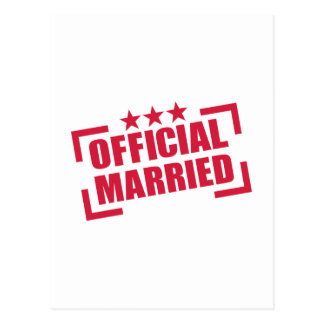 Official Married Post Cards
