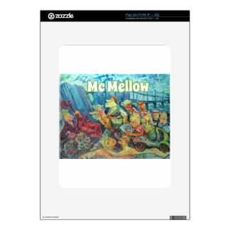 Official Mc Mellow logo merchandise iPad Skins