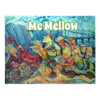 Official Mc Mellow logo merchandise Postcard