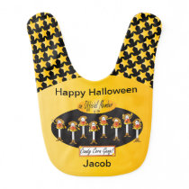 Official Member of the Candy Corn Gang Baby Bib