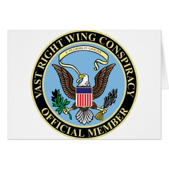 Official Member of The Vast Right Wing Conspiracy Card