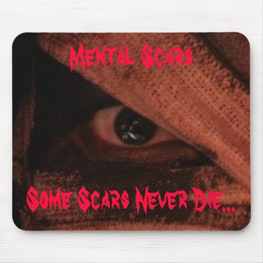 "Official Mental Scars Memorabilia ""Eye"" Mouse Pad"