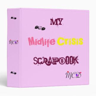 Official Midlife Crisis Scrapbook Binder