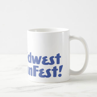 Official MidWest BunFest logo coffee mug